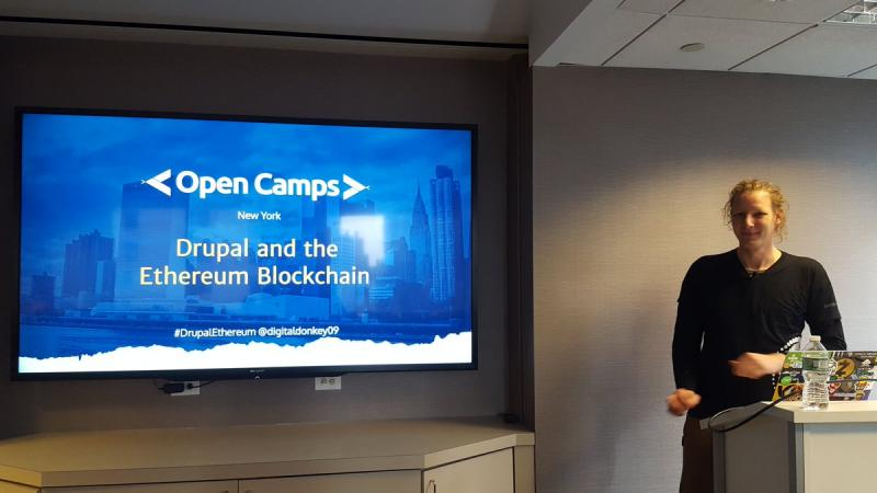 Speaking at Drupal Open Camp NYC